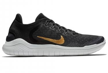 7d256bd42f74 Nike Free RN 2018 Women s Shoes Black Gold