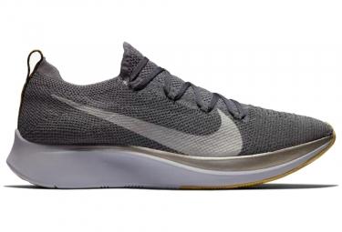 Zapatillas Nike Zoom Fly Flyknit para Hombre Gris / Amarillo