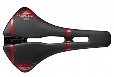 Selle san marco mantra open fit racing noir rouge 146