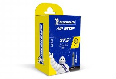 Michelin chambre a air vtt b4 airstop 27 5x1 90 2 50 valve presta 60mm