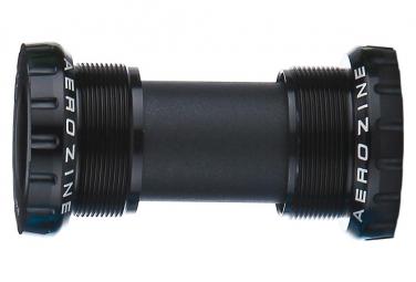 Boitier de pedalier aerozine bsa 73 68mm ceramique vtt noir