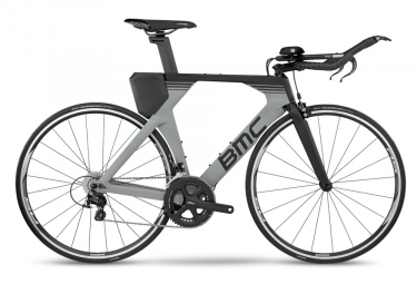 BMC Timemachine 02 Three Triathlon Bike 2019 Shimano 105 11S Grau