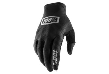Paire de gants 100 celium 2 noir argent s