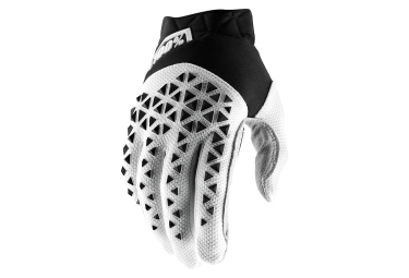 100% AIRMATIC Gloves Black Silver