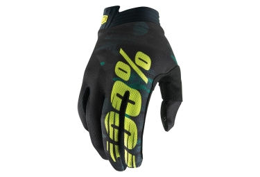 100% iTRACK Glove Camo Youth