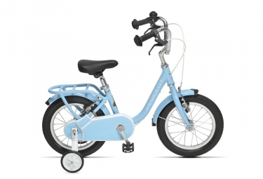 Velo enfant peugeot lj14 14 single speed bleu 3 a 5 ans