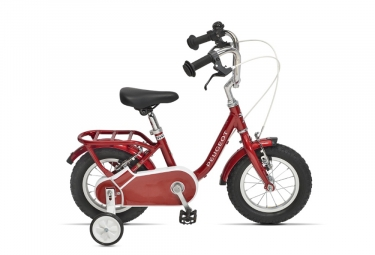 Velo enfant peugeot lj12 12 single speed rouge 2 a 4 ans