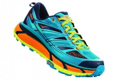 Chaussures de Trail Hoka One One Mafate Speed 2 Bleu / Jaune