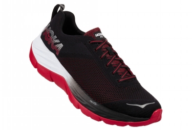 Chaussures de Running Hoka One One Mach Noir / Blanc / Rouge