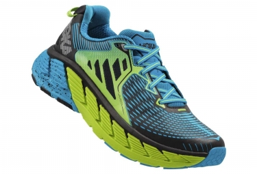 Chaussures de Trail Hoka One One Gaviota Bleu / Jaune