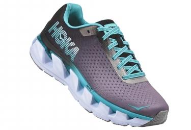 Chaussures de Running Femme Hoka One One Elevon Gris / Bleu