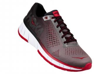 Chaussures de Running Hoka One One Cavu Gris / Rouge