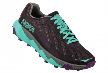 Hoka One One Shoes Trail TORRENT Black Blue Women