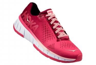 Chaussures de Triathlon Femme Hoka One One Cavu Blanc / Rose