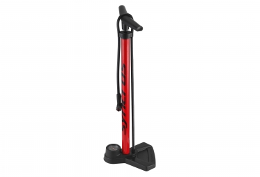 Syncros FP3.0 Floor Pump Red Black (160 Psi / 11 Bar)
