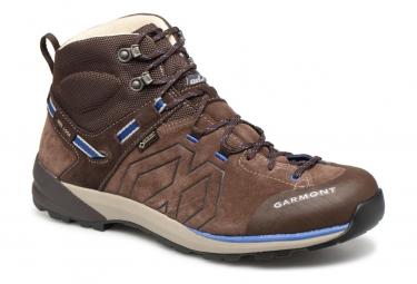 Image of Chaussures de randonnee garmont santiago gtx marron bleu 46 1 2