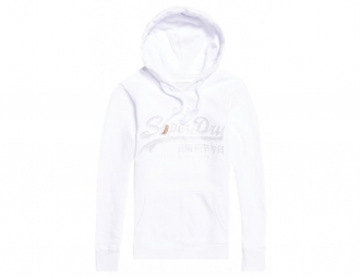 Sweat à Capuche Enfant Superdry Vintage Logo Emboss Optic