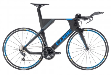 Cube Aerium Race Triathlon Bike 2019 Shimano Ultegra 11S Black / Blue