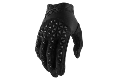 100% AIRMATIC Gloves Black Charcoal