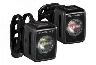 Eclairage Avant/Arrière Bontrager Ion 200 RT/Flare RT USB 2019