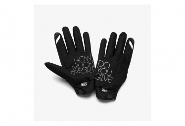 Paire de Gants 100% Brisker Cold Weather Heather Gris
