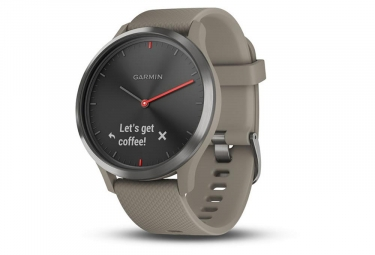 Garmin Vívomove HR Smartwatch Black with Sandstone Silicone Band