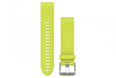 Garmin QuickFit 20 mm Silicone Wristband Amp Yellow