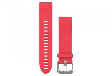 Garmin QuickFit 20 mm Silicone Wristband Azalea Pink