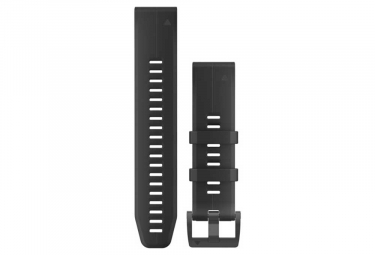Polsino in silicone da 22 mm Garmin QuickFit nero