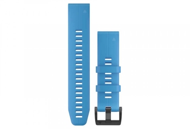 Garmin QuickFit 22 mm Silicone Wristband Cyan Blue