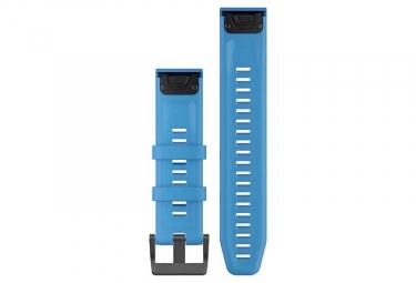Garmin QuickFit 22 mm Silicone Wristband Cyan Blue
