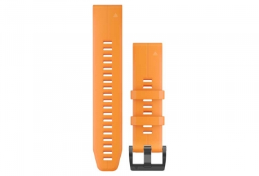 Garmin QuickFit 22 mm Silicone Wristband Solar Flare Orange