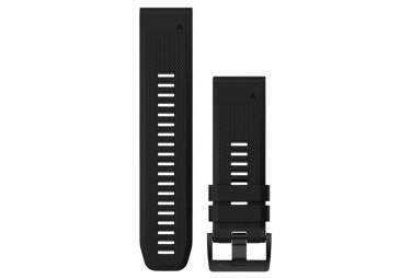 Garmin QuickFit 26 mm Silicone Wristband Black