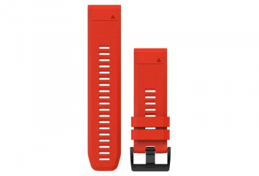 Bracelet Silicone Garmin QuickFit 26 mm Rouge