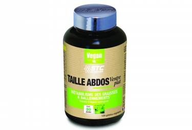 STC Nutrition - Taille Abdos Ventre Plat - 120 capsules