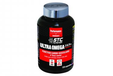STC Nutrition - Ultra Omega 3/6/9+ - 120 Capsules