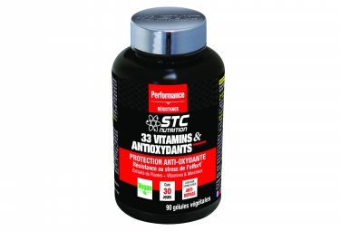 STC Nutrition - 33 Vitamins & Antioxydants - 90 capsules