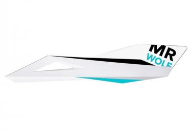 Kit Stickers MR WOLF Recchie Pro Blanc/Turquoise