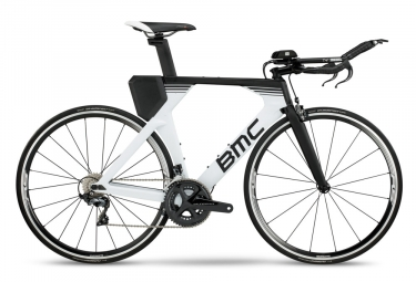BMC Timemachine 02 Two Triathlon Bike 2019 Shimano Ultegra 11S Blanco / Negro
