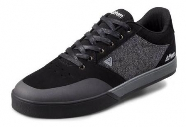 Afton Schuhe Keegan Black Heather Grey