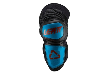 Leatt Enduro Short Knee Guards Fuel Black