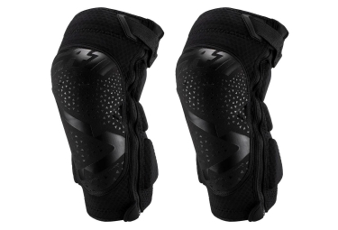 Leatt 3DF 5.0 Zip Short Knee Guards Black
