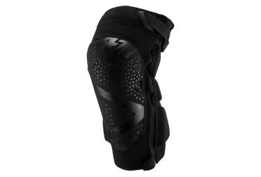 Leatt 3DF 5.0 Zip Short Knee Guards Black