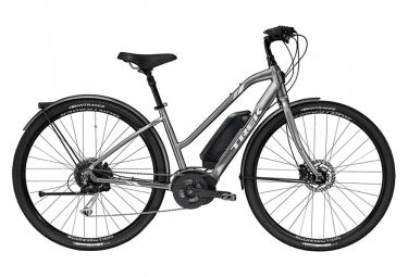 Trek Verve + Low Step Womens E-Bike  Gris / Blanc