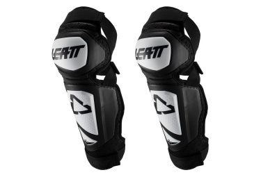 Leatt 3.0 EXT Knee Shin Guards White Black