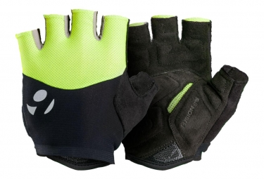 BONTRAGER Glove Bontrager Halo Gel High Visibility Yellow