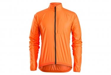 Veste coupe vent bontrager circuit windshell orange xs