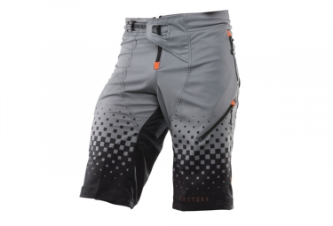 Kenny Factory Kid Shorts Black / Orange