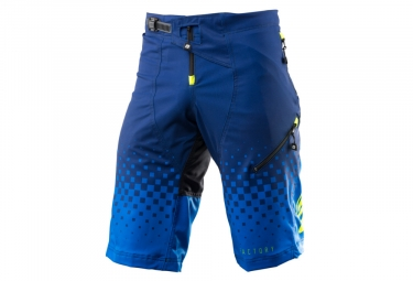 Short enfant kenny factory bleu jaune fluo 24
