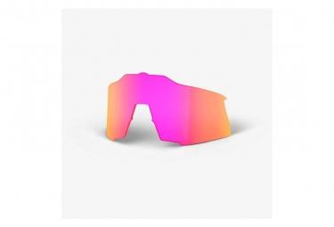 Lente de repuesto Speedcraft 100% / Espejo de múltiples capas púrpura